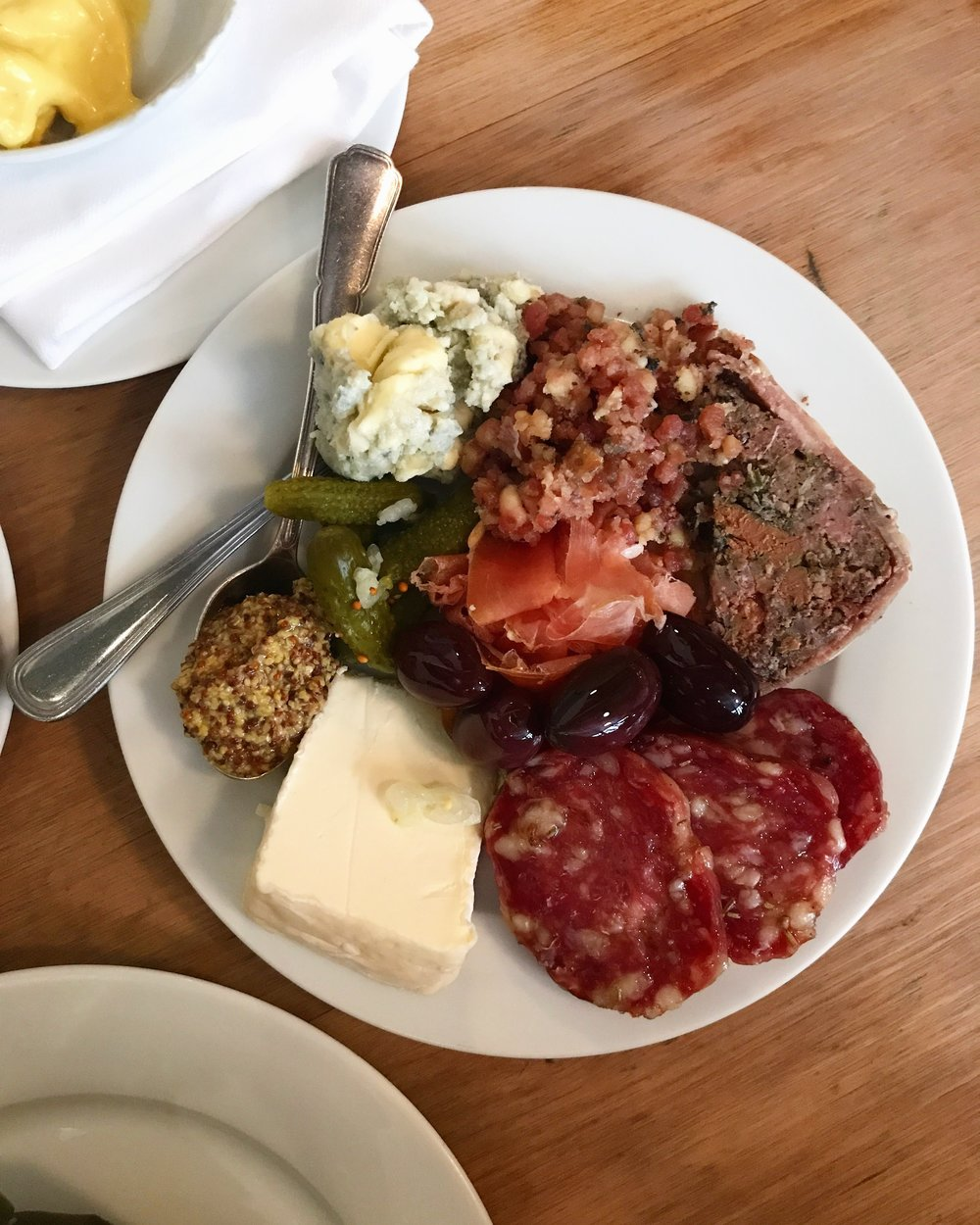 Fromages + charcuterie from Buvette