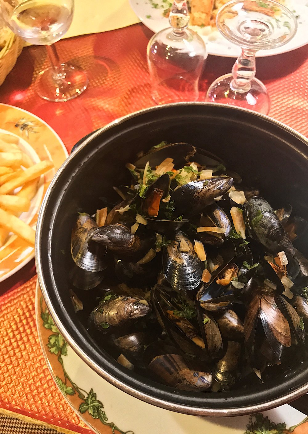 Moules frites in Épernay