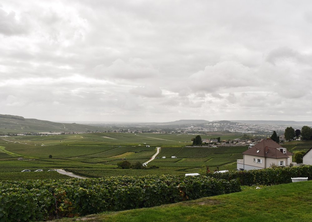 Outside of Champagne G. Tribaut in Hautvillers