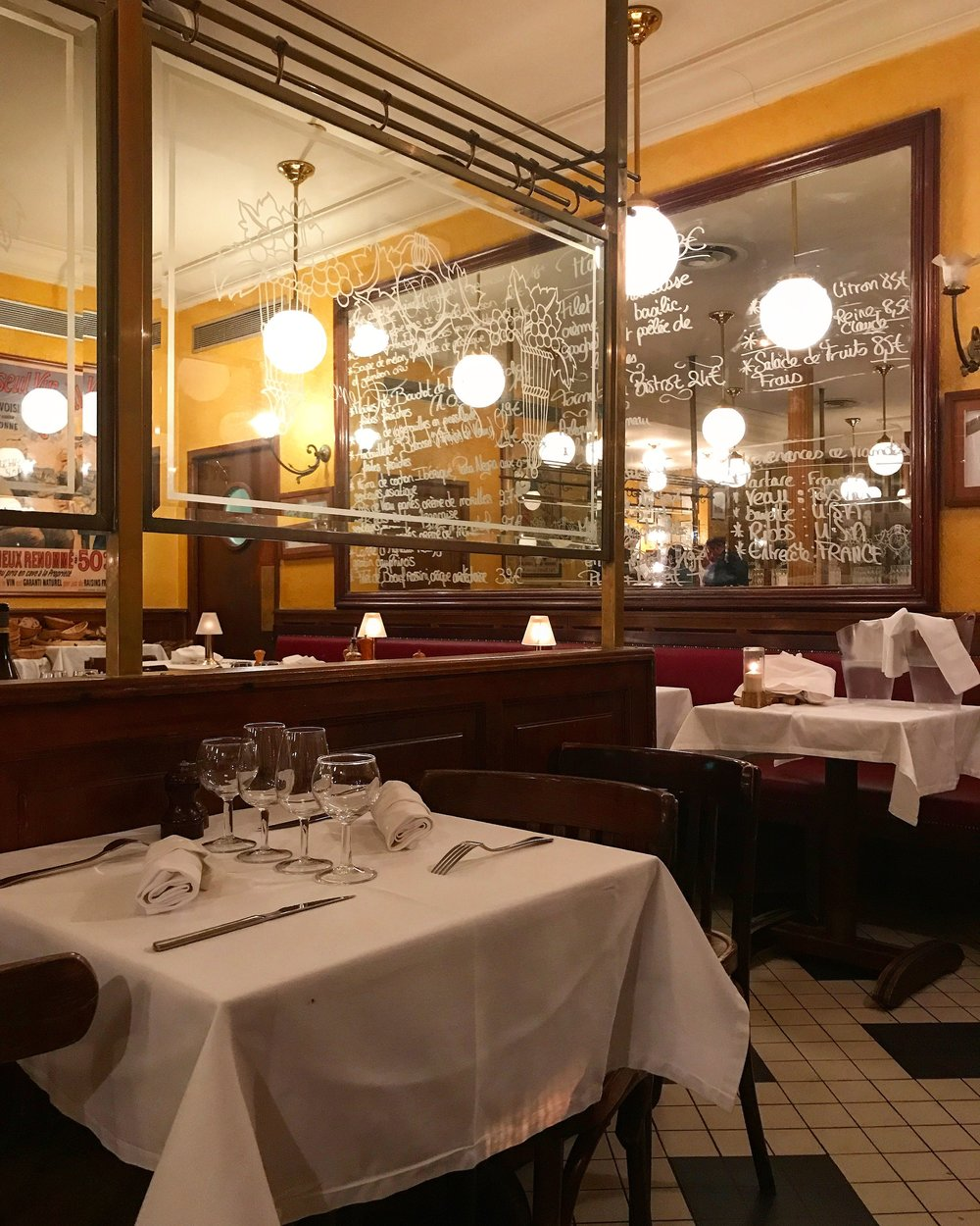 Le Bistrot des Clercs, where we had one of our most memorable dining experiences