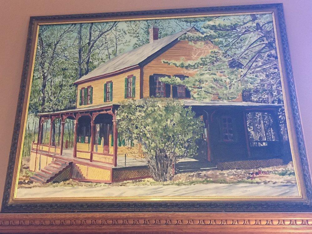 """""""21st Century Grant Cottage"""" by J.C. Parker $10,000"""
