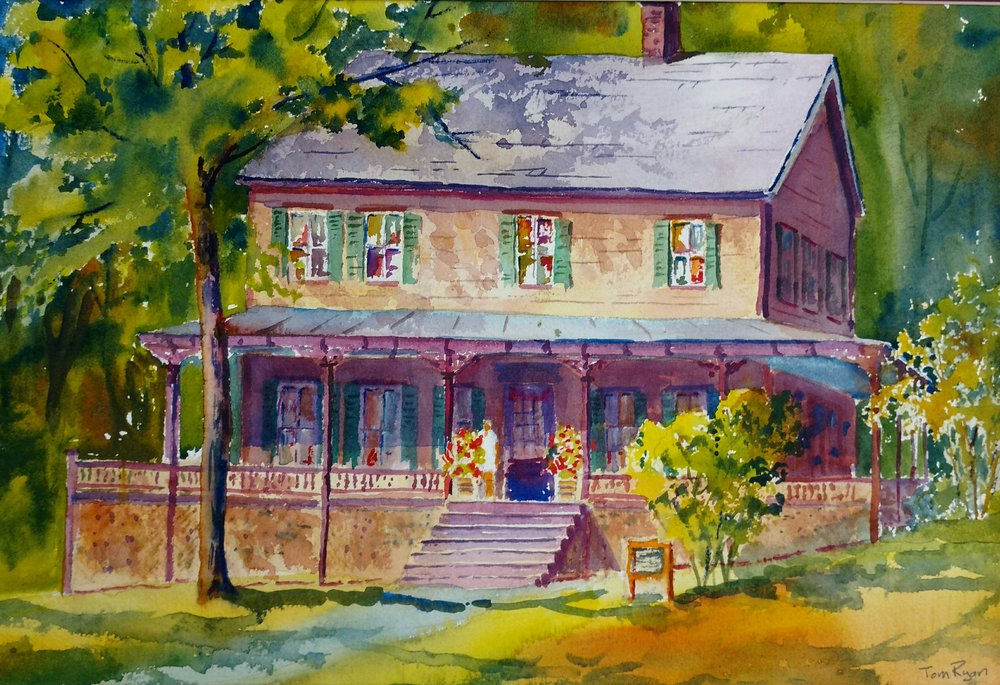 """Grant Cottage"" by Tom Ryan $350"