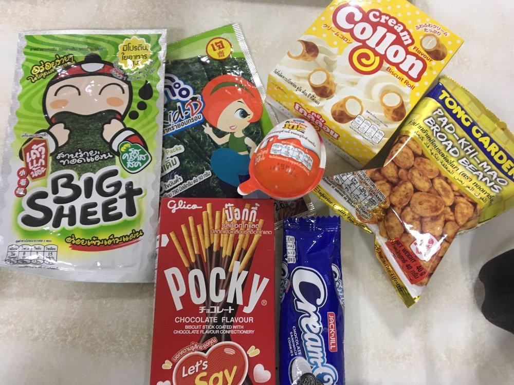 snacks snacks snack