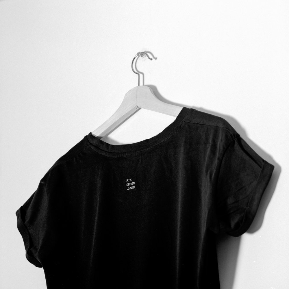 T-shirt back detail