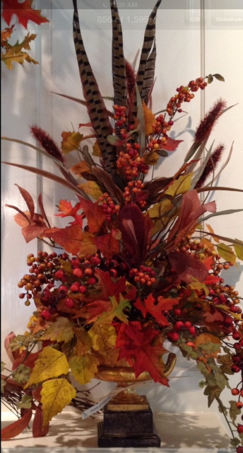 Fall Silk Centerpiece