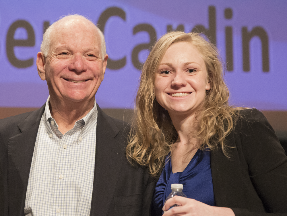Allison with Senator Ben Cardin