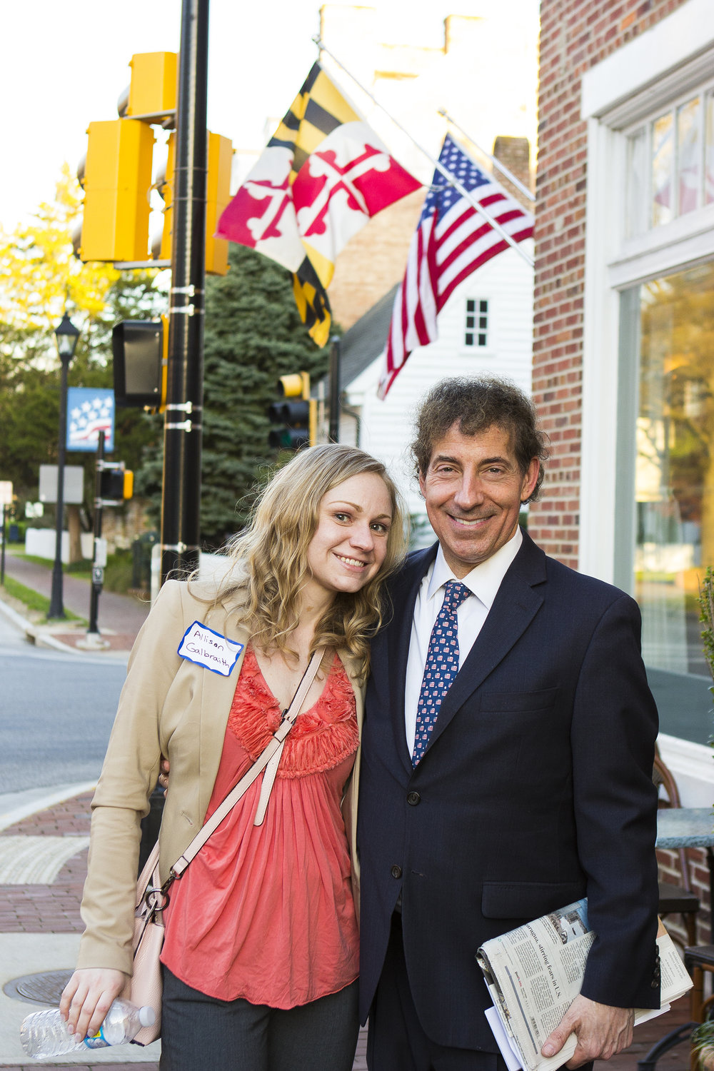 Allison with Rep. Jamie Raskin