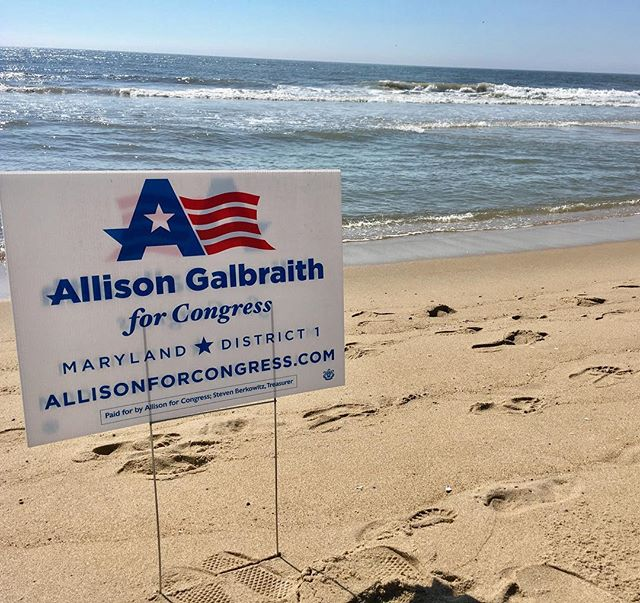 Proud to receive an endorsement from the Atlantic Ocean #flipthefirst