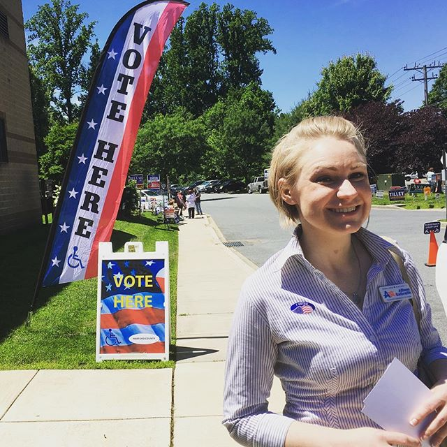 Early voting begins! Open 10-8 until June 21. Get out the more and vote to #flipthefirst!