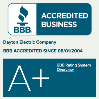 Dayton Electric BBB A+ Rating