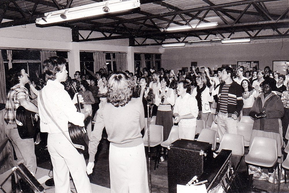 Victory Faith Centre in 1980