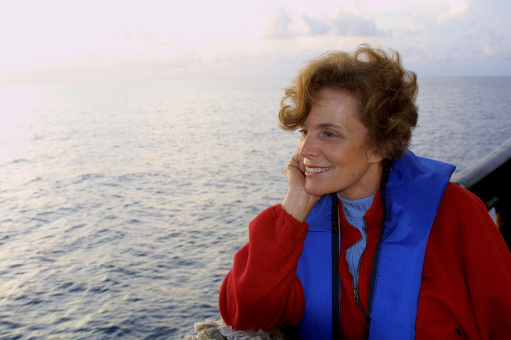 "Sylvia Earl  Oceanographer Explorer-in-Residence, National Geographic  ""Our past, our present, and whatever remains of our future, absolutely depend on what we do now."""