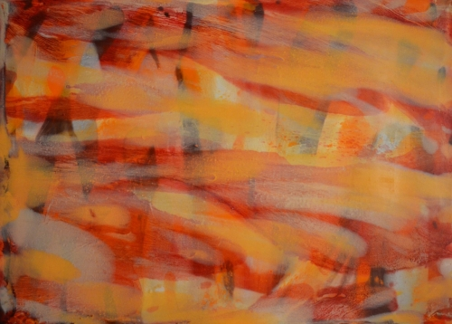 SPECTRA 2   Medium: Oil Paint, Gamsol, and Gamvar Size: 60x84 inches