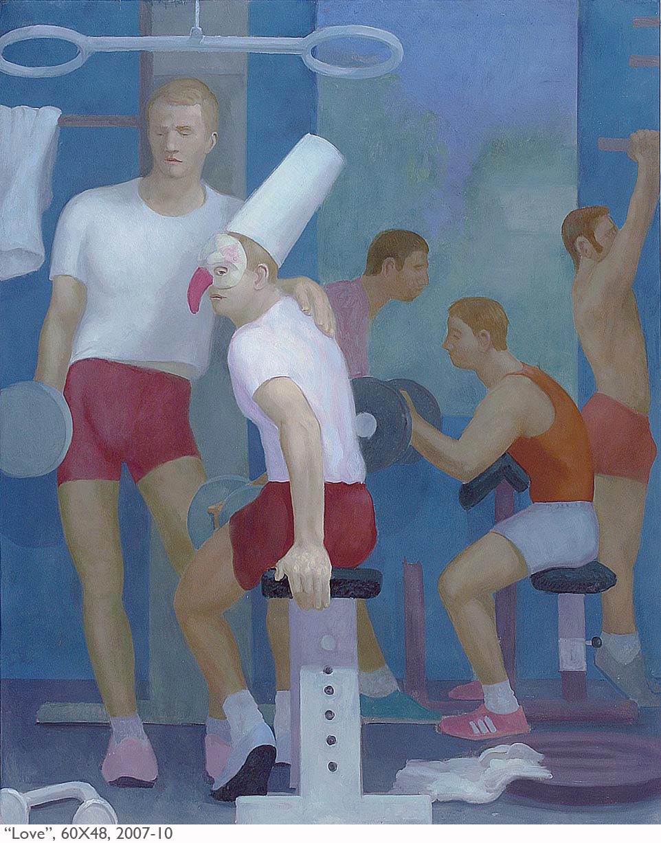 "Thomas Berding, Lost in Conversion, 2016, oil, acrylic and flashe on canvas, 69"" x 62"".jpg"