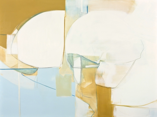 TIMING OF TWO 2014, 36 x 48 inches, oil and graphite on panel