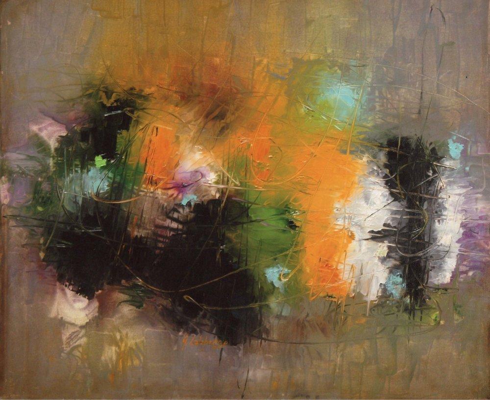 AUTUMN   Oil on canvas, 50 x 60 cm 2017