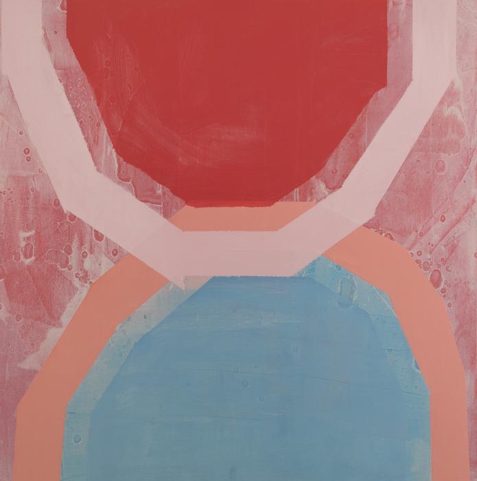 "POOL   Oil on canvas, 36"" x 36"" 2018"