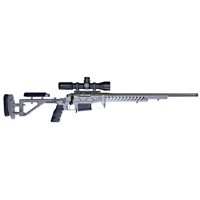 New Bergara 6.5 Creedmoor Custom Competition Rifle. #65creedmoor #bergararifles #tacticalgray #foldingstock