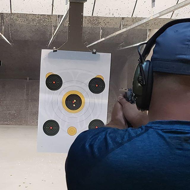 45ACP bullseye #colt #rangeday #45acp #causetheydontmakea46