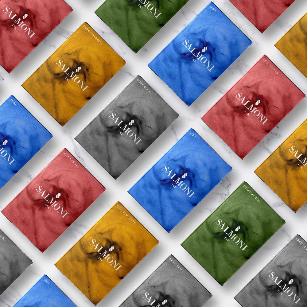 Salmoni Ink | Brand Identity Design