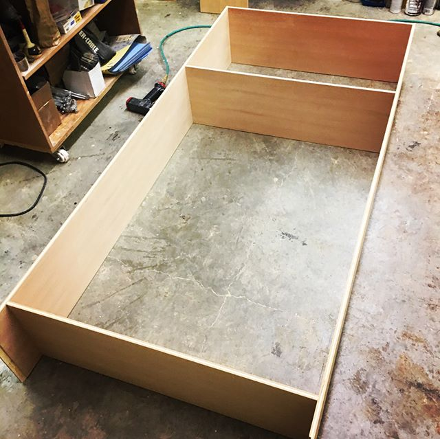 The dollhouse bookcase and play kitchen are taking shape in the cabinet shop.. big thanks to Mapleleaf Woodworking for their expertise.. stay tuned! #canyouseeit #minimansion #minimansions #playhousemansion #makeawishfoundation #oregon #fun #project #mapleleaf #woodworking #woodworker #craftsman #building #cabinets #dollhouse #pollypocket #bookcase #playkitchen #rv #motorhome #playhouse #cool #unique #custom #vintage #retro #design #staytuned