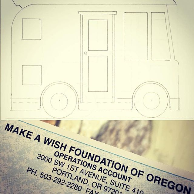 I'm reminiscing on this fun project today.. it brought so much joy seeing this come together start to finish! #tbt #shelovedit #reminiscing #poppyswish #canyouseeit #minimansion #minimansions #playhousemansion #makeawishfoundation #oregon #fun #project #rv #motorhome #winnebago #playhouse #cool #unique #custom #vintage #retro #design