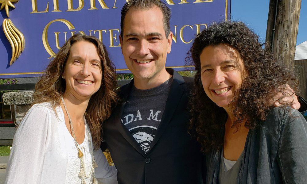 Lucie Cadieux, Jean-Claude Tremblay et Brigitte Quenneville.