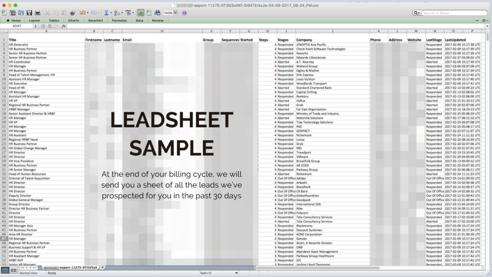Leadsheet Sample