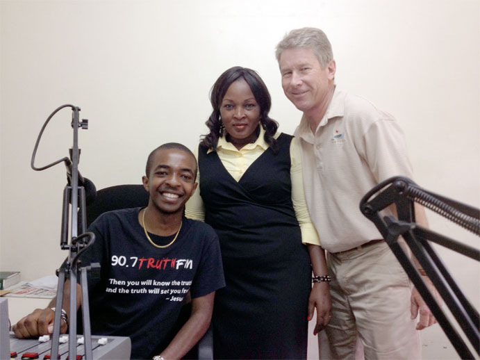 John at Truth FM Radio