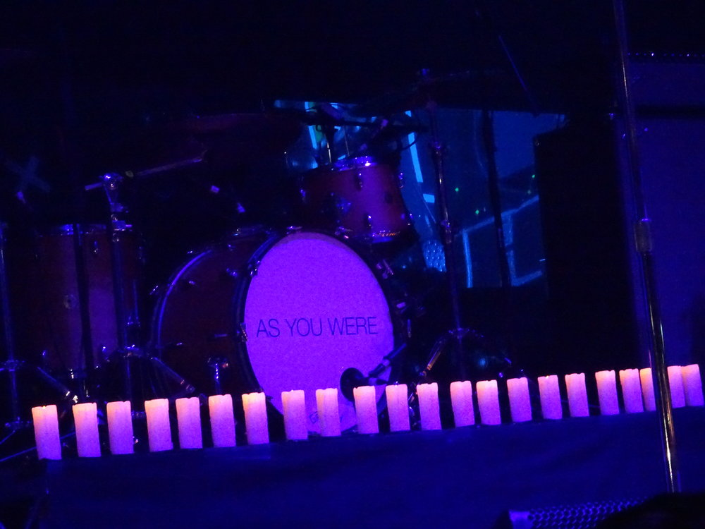 22 Candles light the stage in memory of those that lost their lives, (c) Philip Giouras @ The Perfect Tempo
