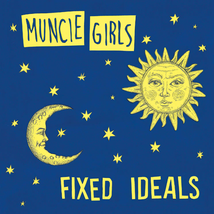 Muncie Girls      Fixed Ideals - A combination of authentic punk and deeply personal, emotive lyrics that don't just tackle the worlds messed up politics but also the conflicts inside us that we try to hide away.