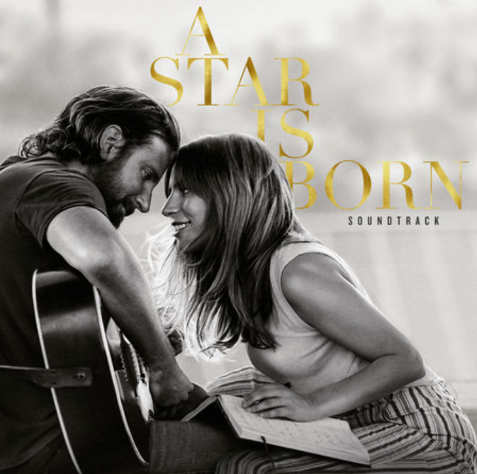 Lady Gaga & Bradley Cooper A Star Is Born (2018) - On the classics fourth remake. Lady Gaga and Bradley Cooper bring a refreshingly modern take to the classic story with a soundtrack which manages to capture all the emotion of the big screen, whilst standing on its own feet as a truly remarkable album.