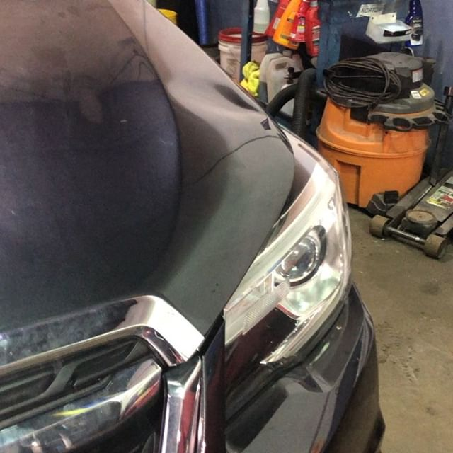 Got this Subaru hood back in shape today.  #subaru #dentgame #paintlessdentremoval #paintlessdentrepair #dent #nobondo #saved #dentrepair #nopaint #nyc #dentporn #nofillers #nopaintwork #longisland #pdr #strongisland #liny #newyork #ny#nobodywork #thedentsmith #nofillers #savemoney #631 #516
