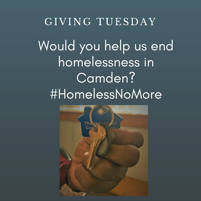 Giving Tuesday - #HomelessNoMore