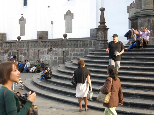 Preaching Christ in Quito, Ecuador