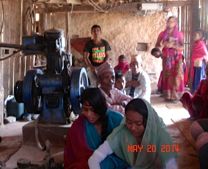 Fellowship in a Rice Mill
