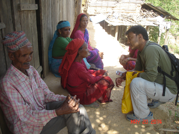 Sharing Christ with Villagers