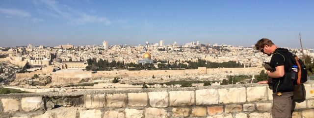 """Pray for the peace of Jerusalem: they shall prosper that love thee"" (Psalm 122:6)."