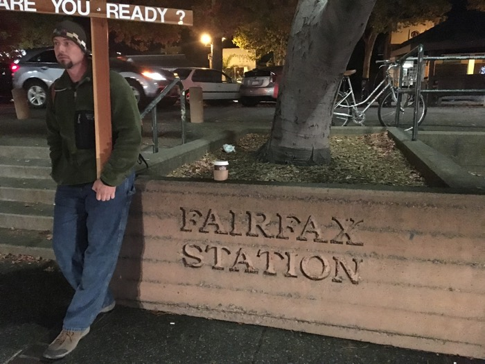 Fairfax Station, California: this was the first spot I ever preached the Gospel in the open air, and that was 13 years ago!
