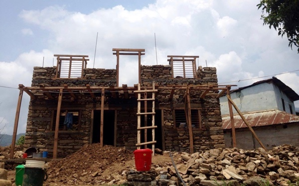 Building Brother Daya Ram's New Village Home