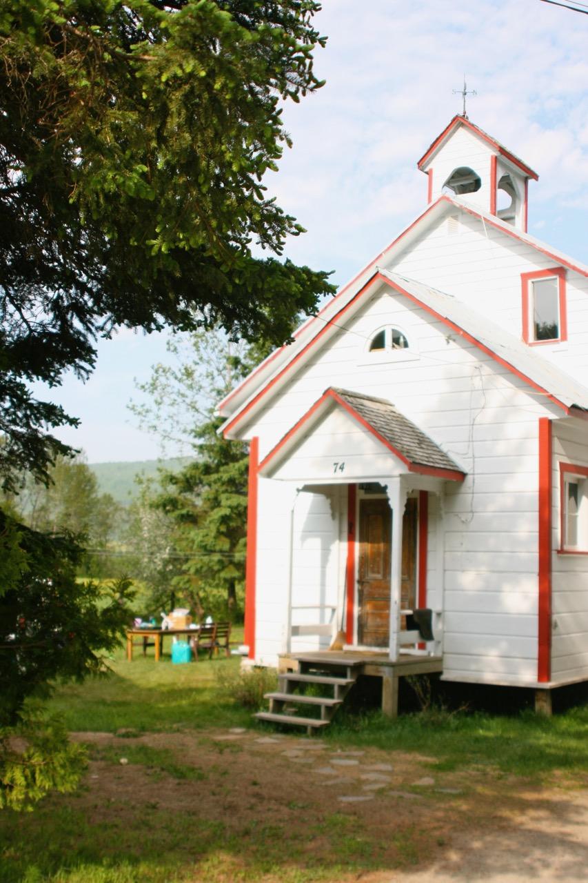 An Old Schoolhouse in St. Urbain