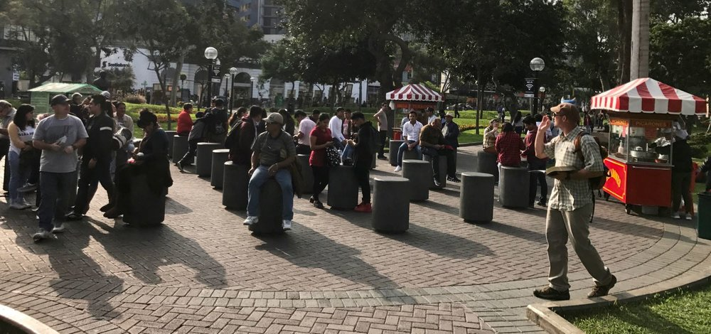 Open-air Preaching in Miraflores