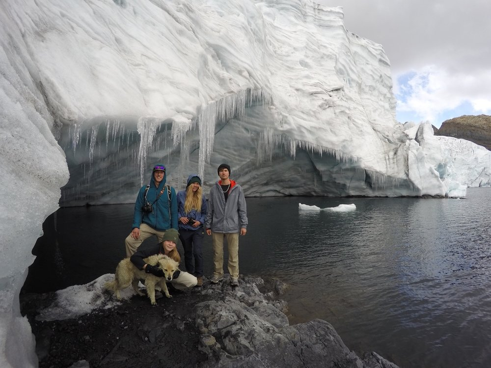 Exploring the Pastoruri Glacier