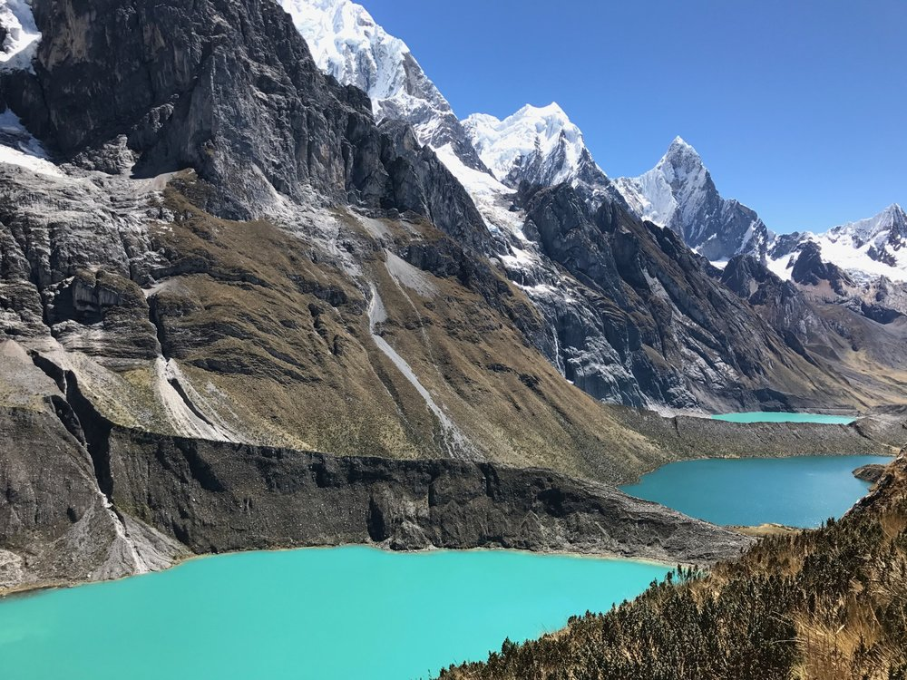 Three Gorgeous Andean Lakes