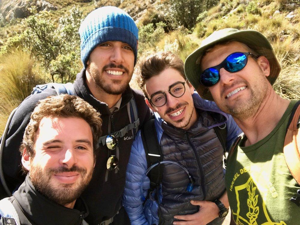 Meeting Israeli Trekkers on the Laguna 69 Route in Peru's Cordillera Blanca (2016)