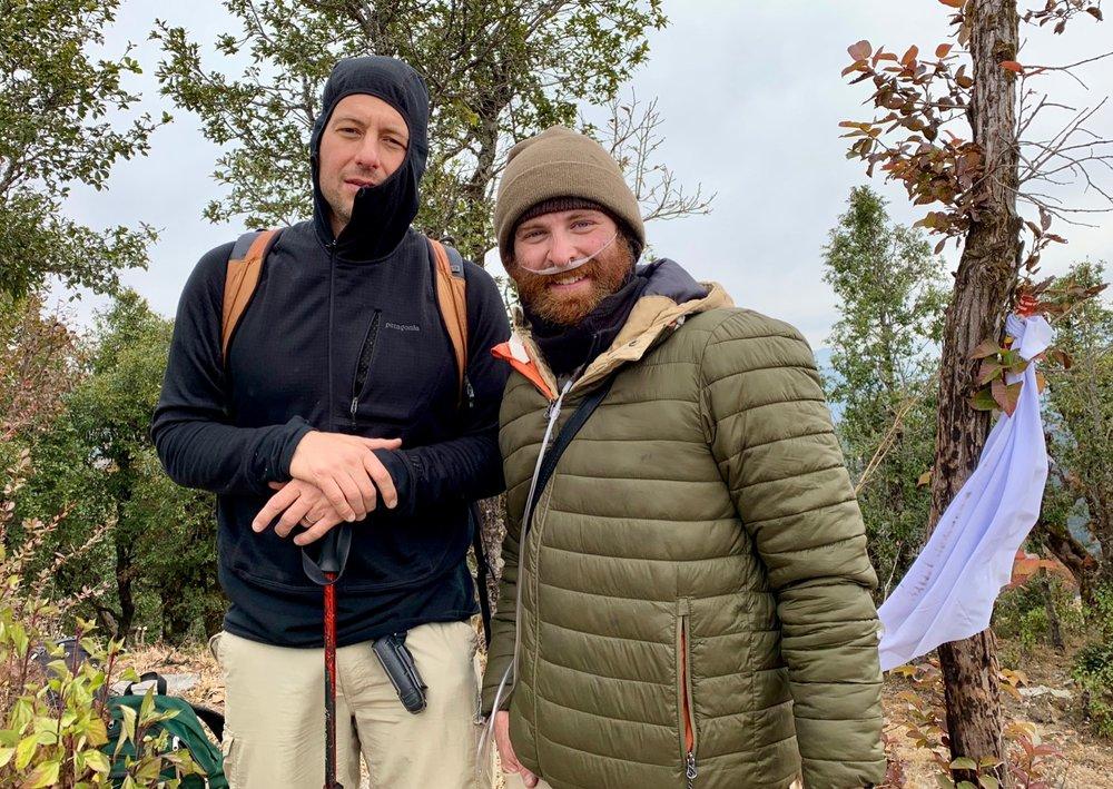 The summit of North Simana Jamalyaahaa (8,633 ft.) in Nepal's Far West