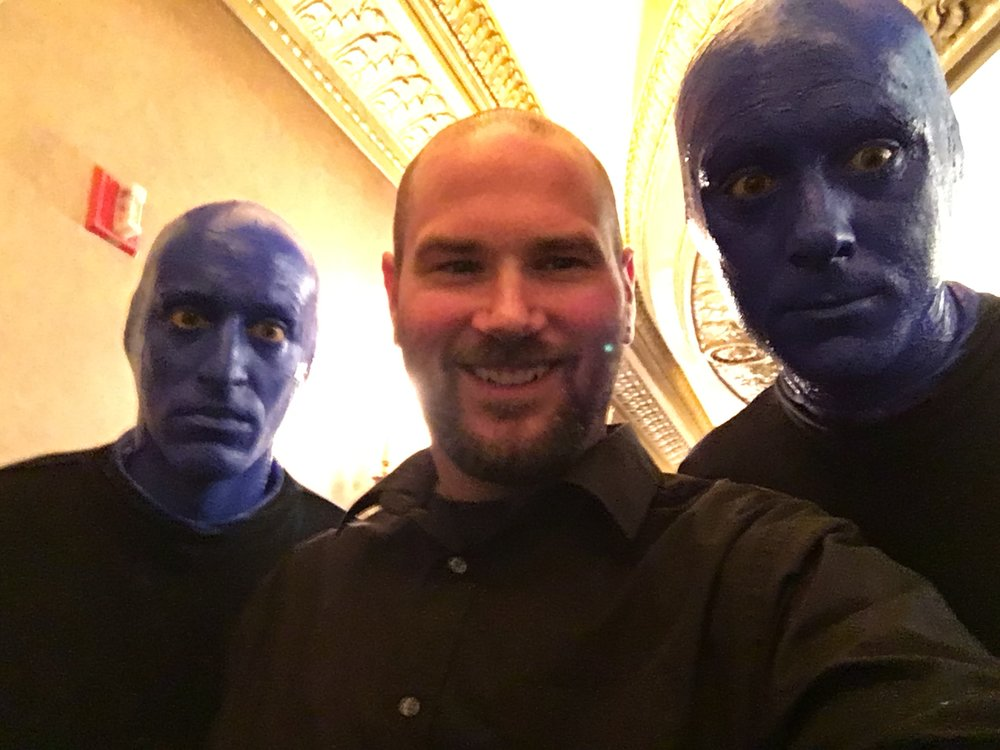 blue man group z*stonish