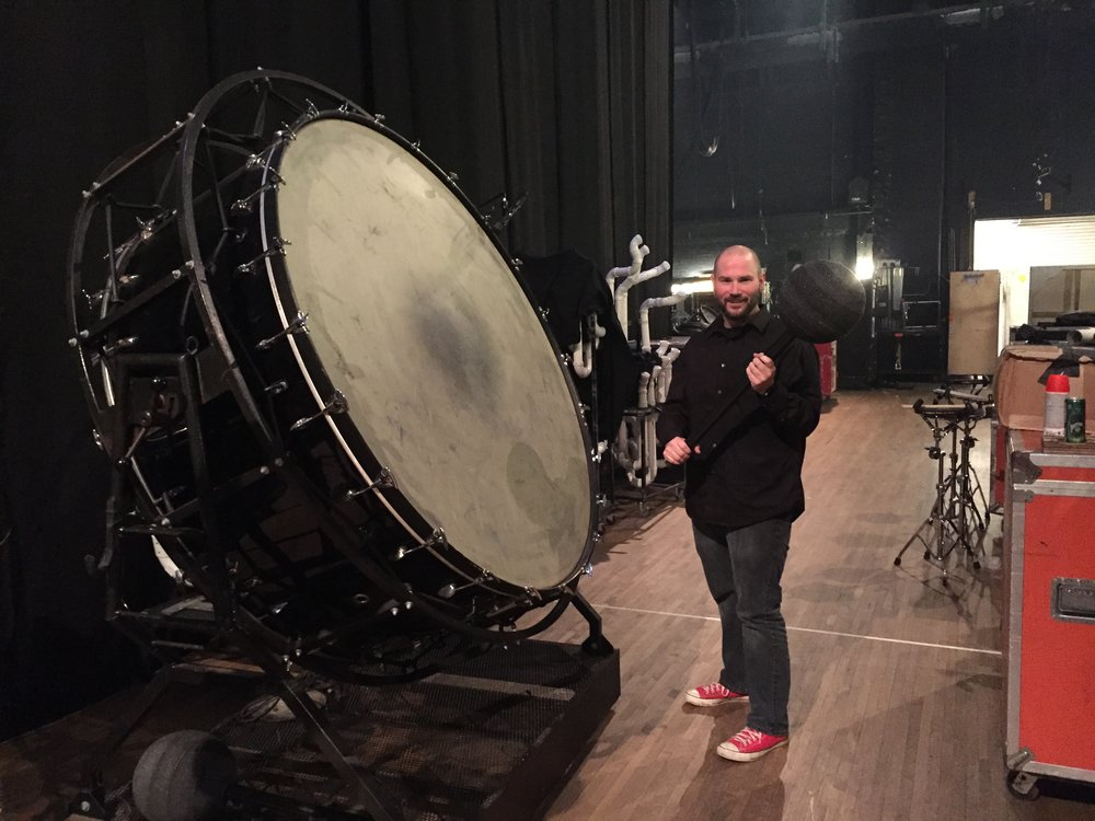 blue man group drum