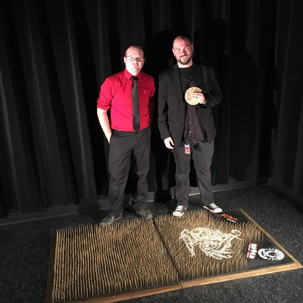 Zstonish & Travis Nye Bed of Nails Event
