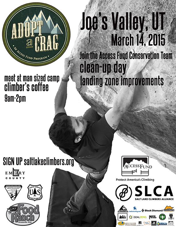 joes adopt a crag March 14,2015sm